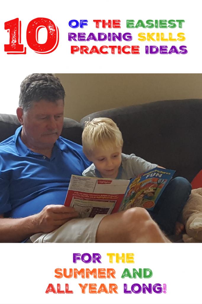 reading skills practice ideas