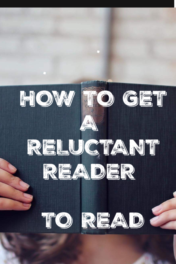 help a reluctant reader