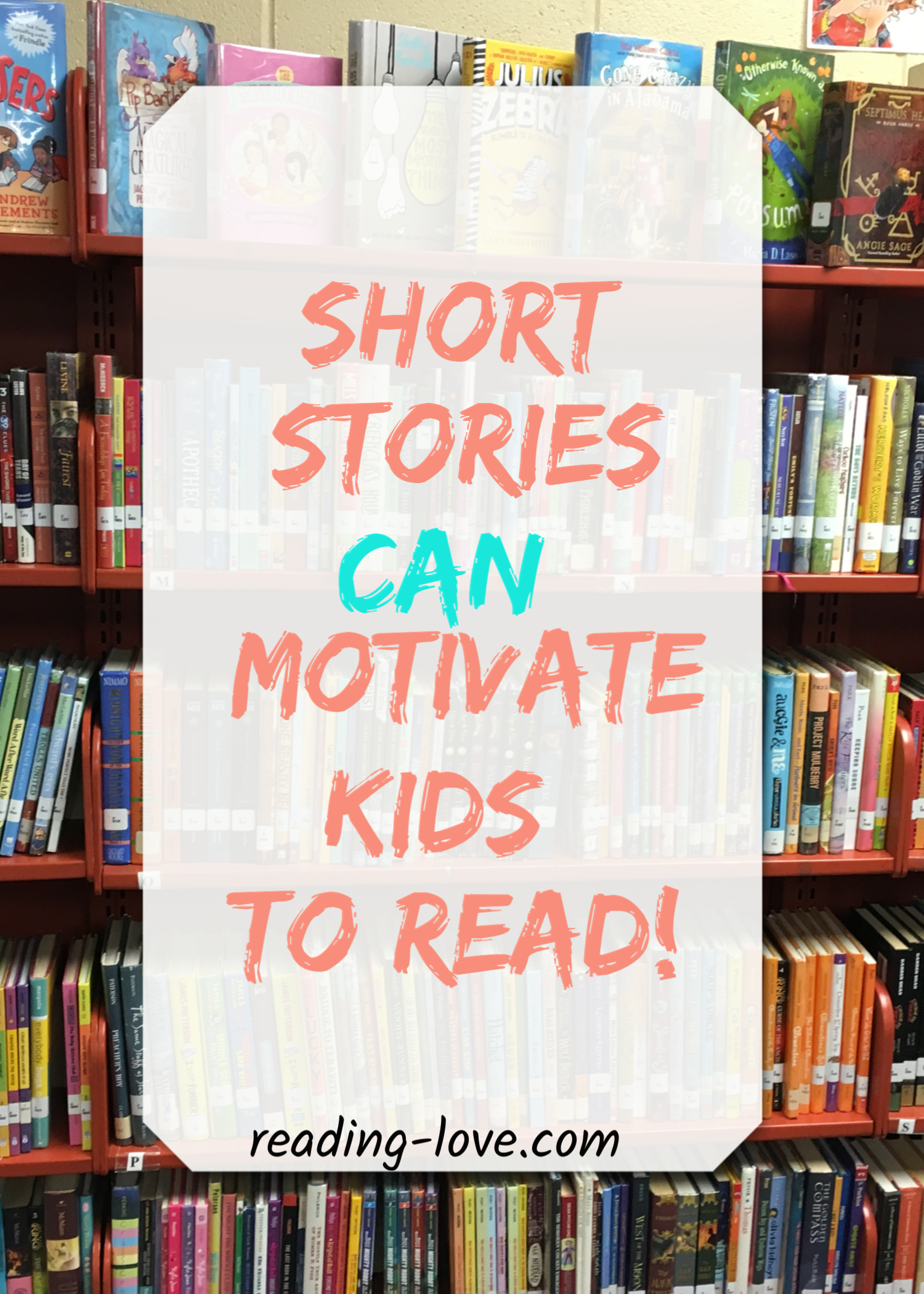 can motivate kids to read
