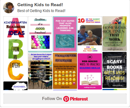 getting kids to read