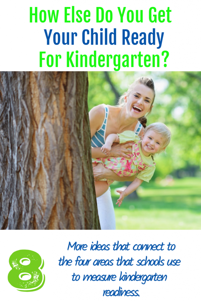 get your child ready for kindergarten