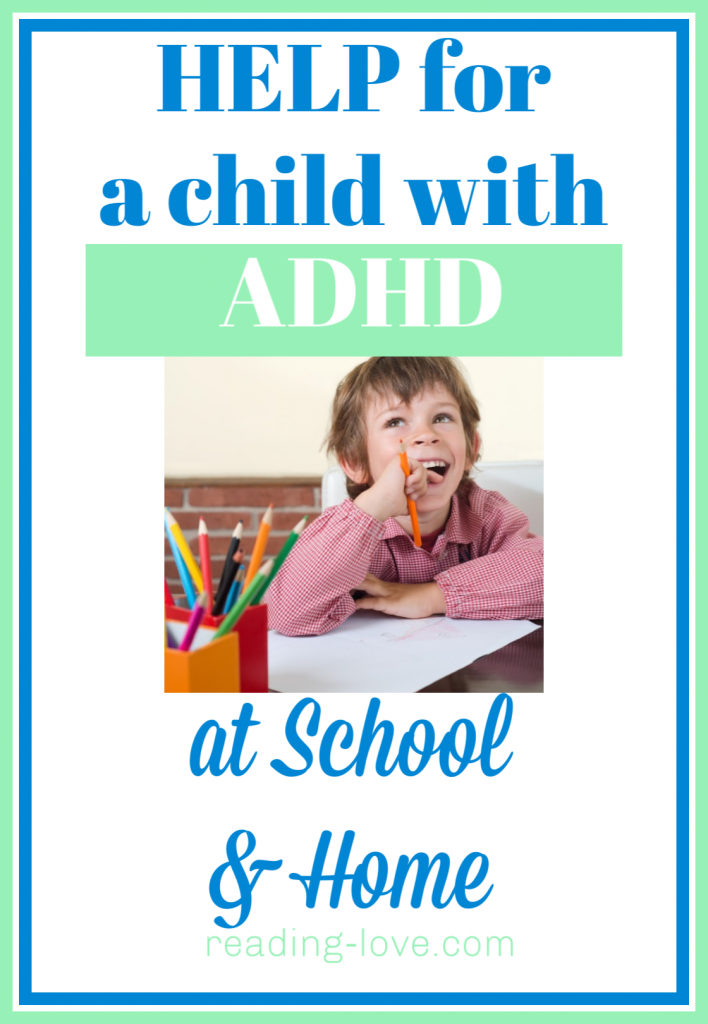 help for a child with ADHD at school