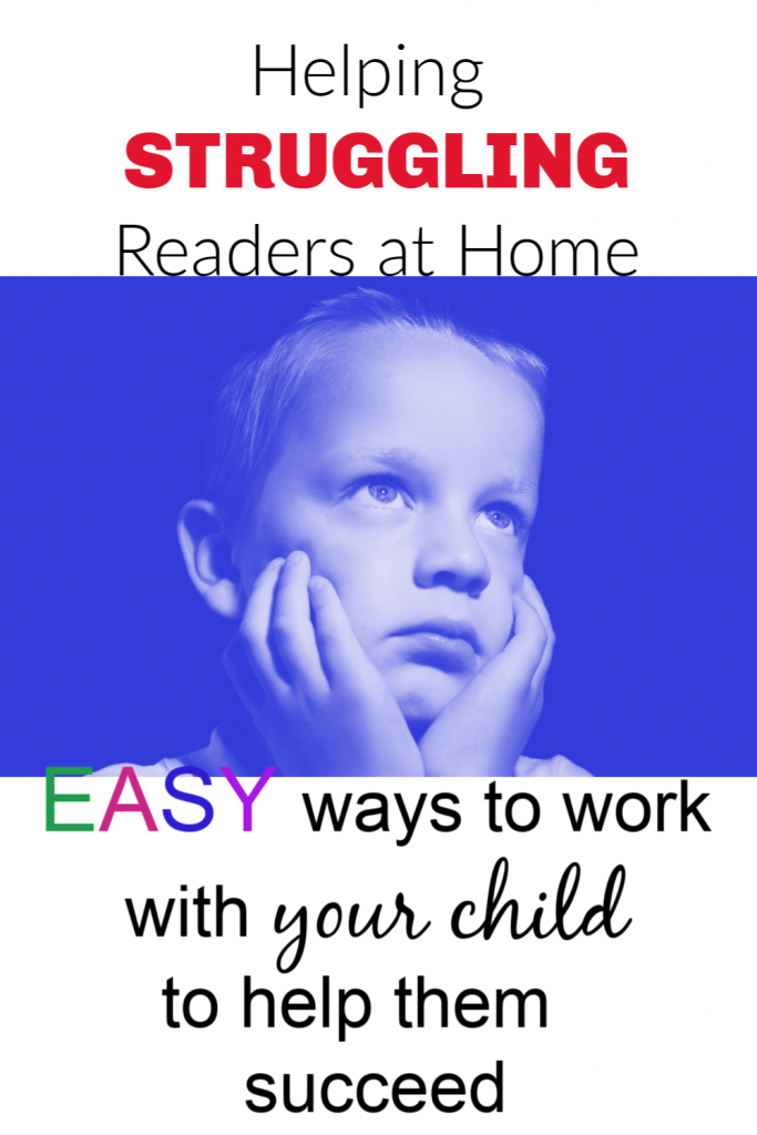 helping struggling readers at home