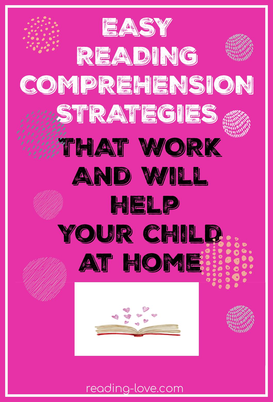easy reading comprehension strategies